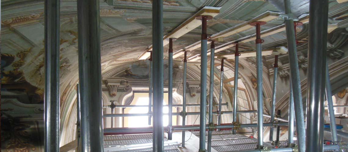 Reyneri Architetti - Chiesa di San Bernardino, Saluzzo (Cn), Consolidamento e restauro della volta