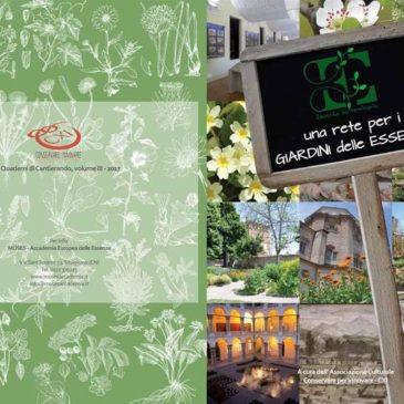 """Presentazione del quaderno """"Essenza del Territorio: una rete per i giardini delle Essenze"""""""